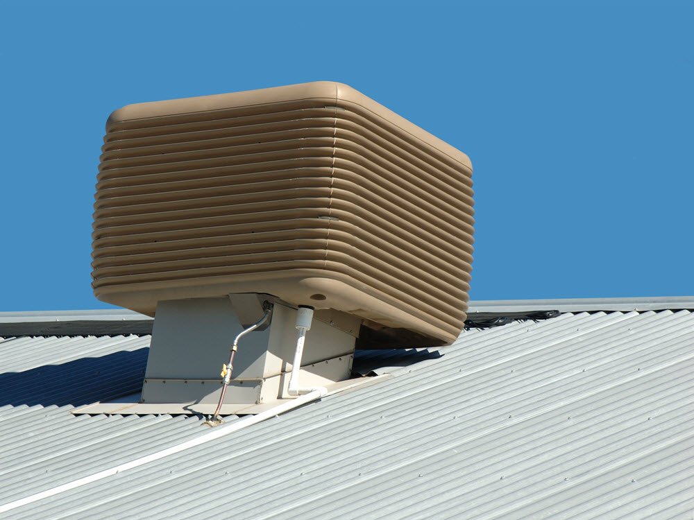 Air Conditioning Installation on Roof